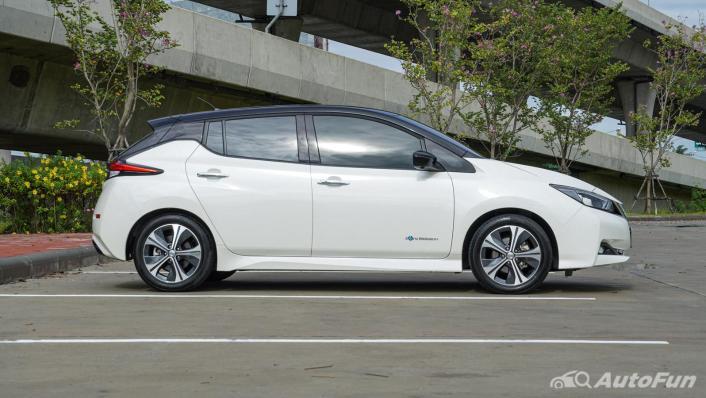 2020 Nissan Leaf Electric Exterior 004
