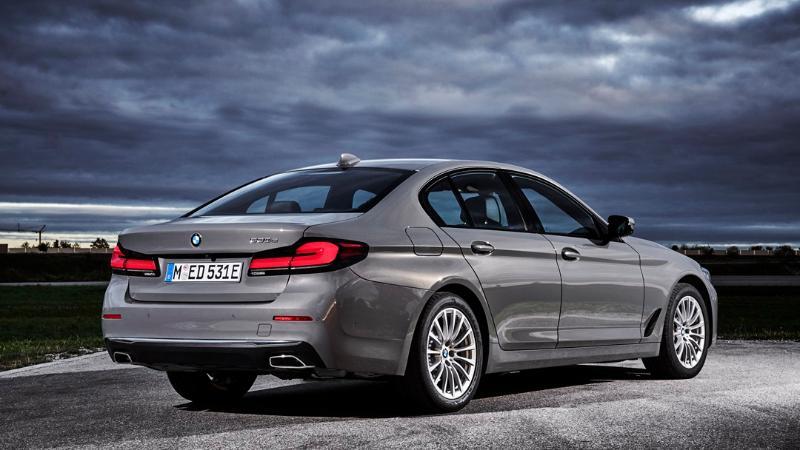 2021 BMW 5-Series LCI รุ่นไมเนอร์เชนจ์เตรียมเปิดตัวในประเทศไทยวันที่ 20 มกราคม 02