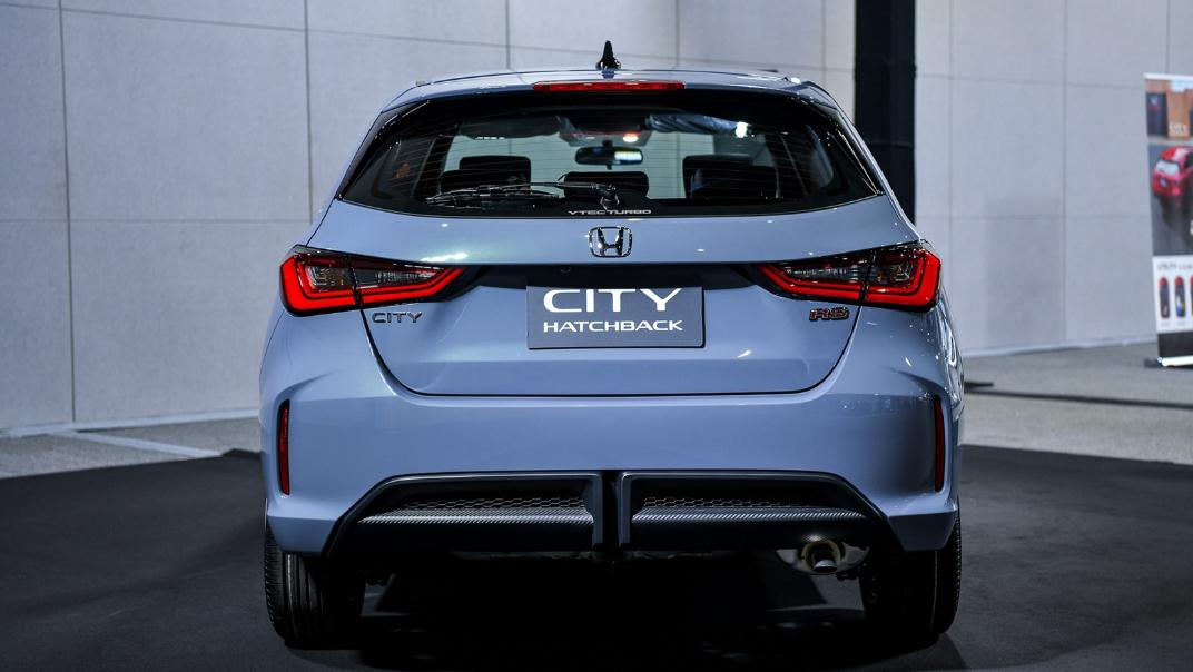 2021 Honda City Hatchback 1.0 Turbo RS Exterior 005