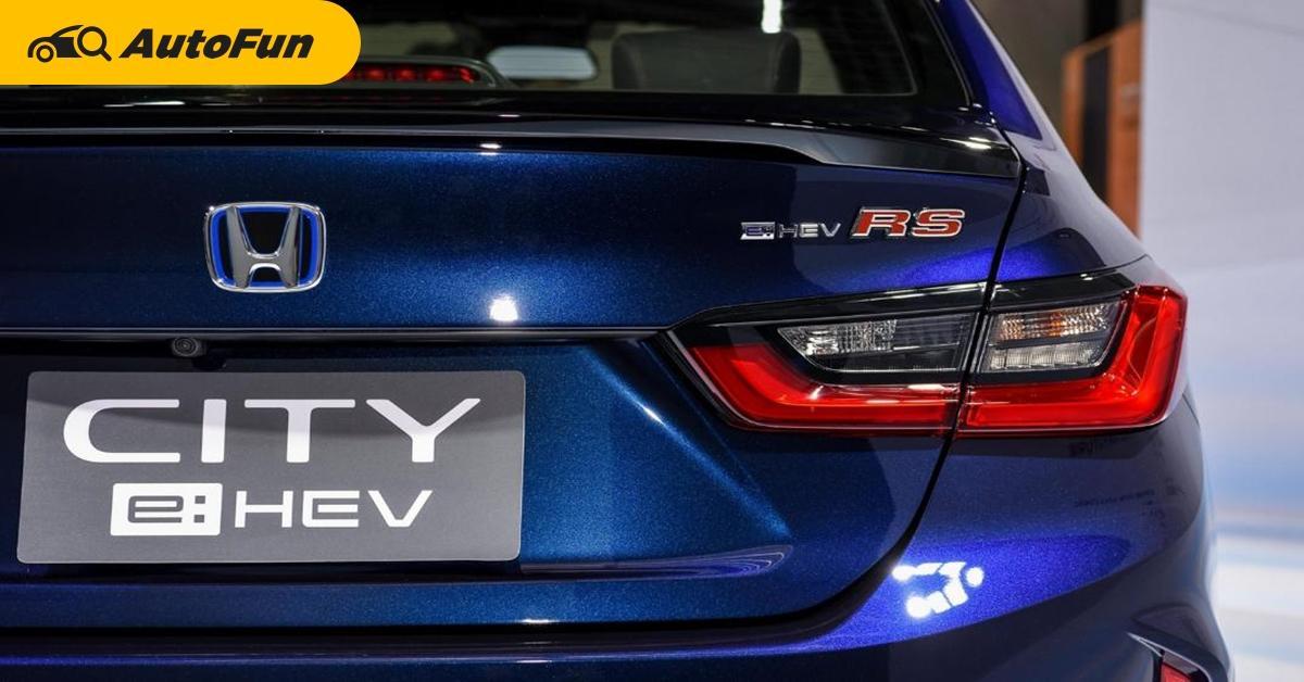 2021 Honda City เทอร์โบก็ดี e:HEV พี่ก็รัก ห่างกัน 100,000 บาทผ่อนต่างกันเท่าไร 01