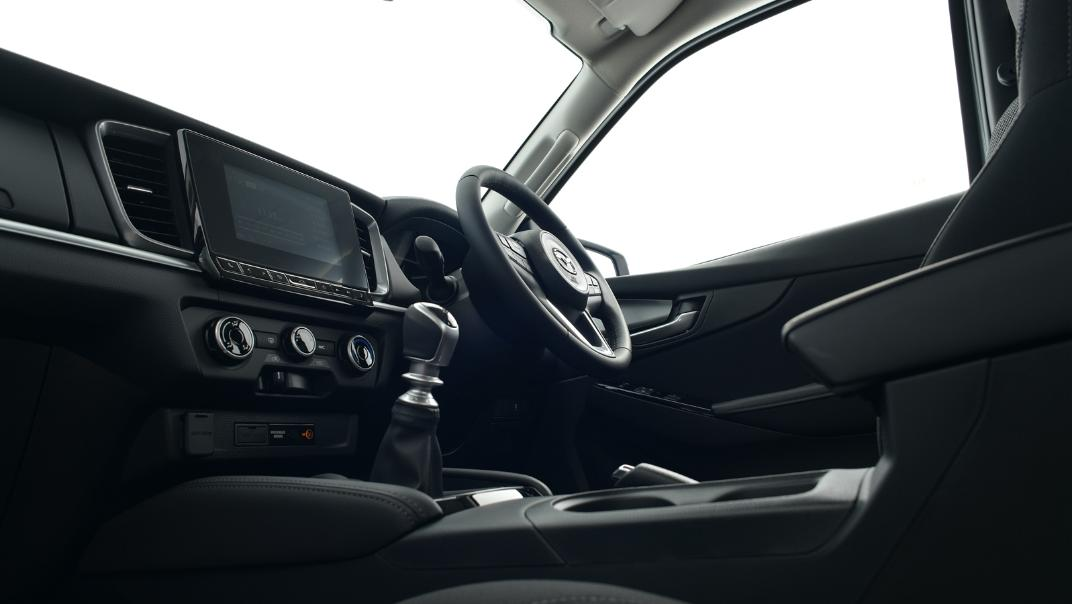 2021 Mazda BT-50 Freestyle cab Upcoming Version Interior 013