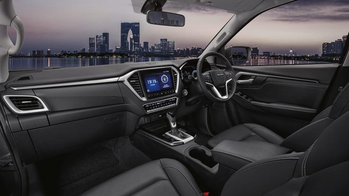 Isuzu D-Max 4-Door 2020 Interior 001