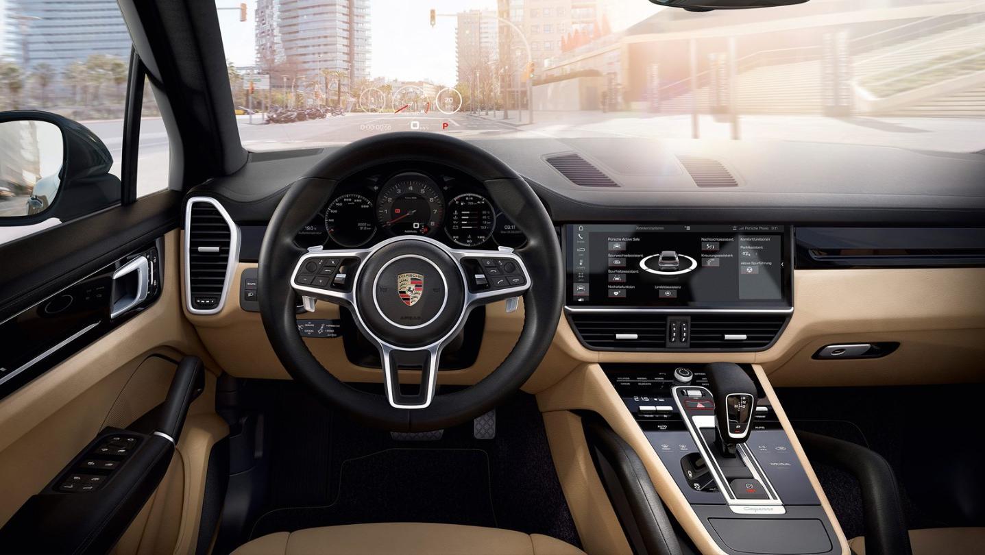 Porsche Cayenne Public 2020 Interior 001