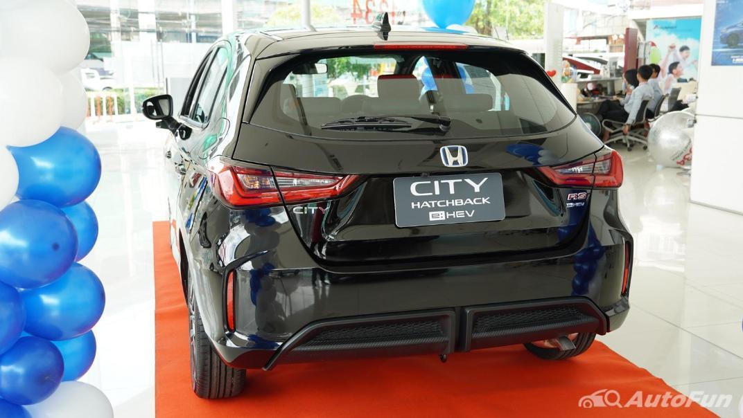 2021 Honda City Hatchback e:HEV RS Exterior 047