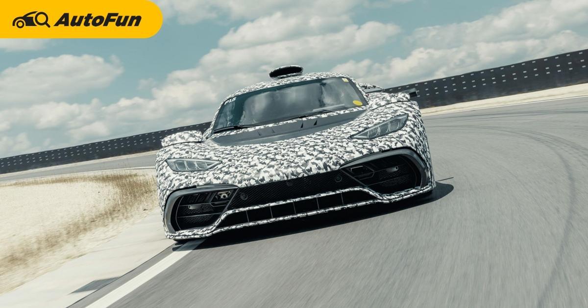 Mercedes-AMG Project ONE ปล่อยภาพรถทดสอบสยบข่าวลือ กับสเปคเครื่อง F1 กำลังเกิน 1,000 แรงม้า 01