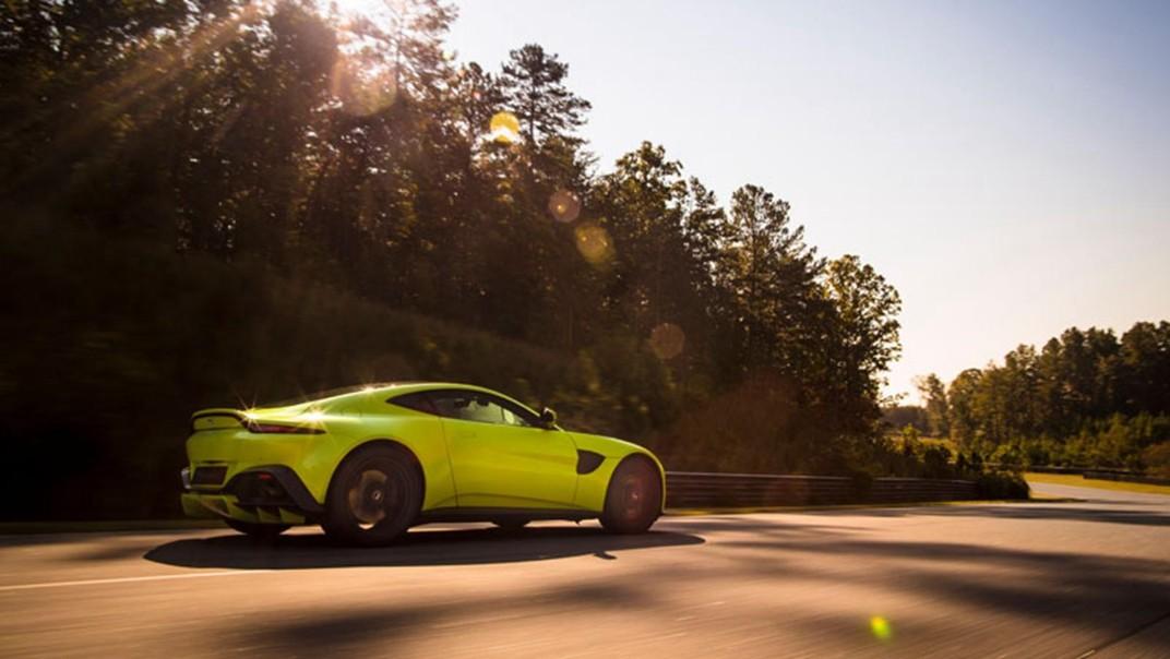 Aston Martin V8 Vantage Public 2020 Exterior 007