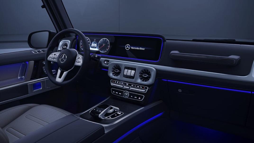Mercedes-Benz G-Class 2020 Interior 016
