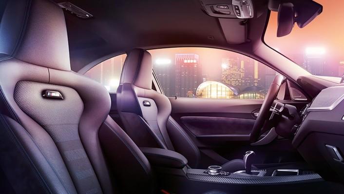BMW M2-Coupe 2020 Interior 003