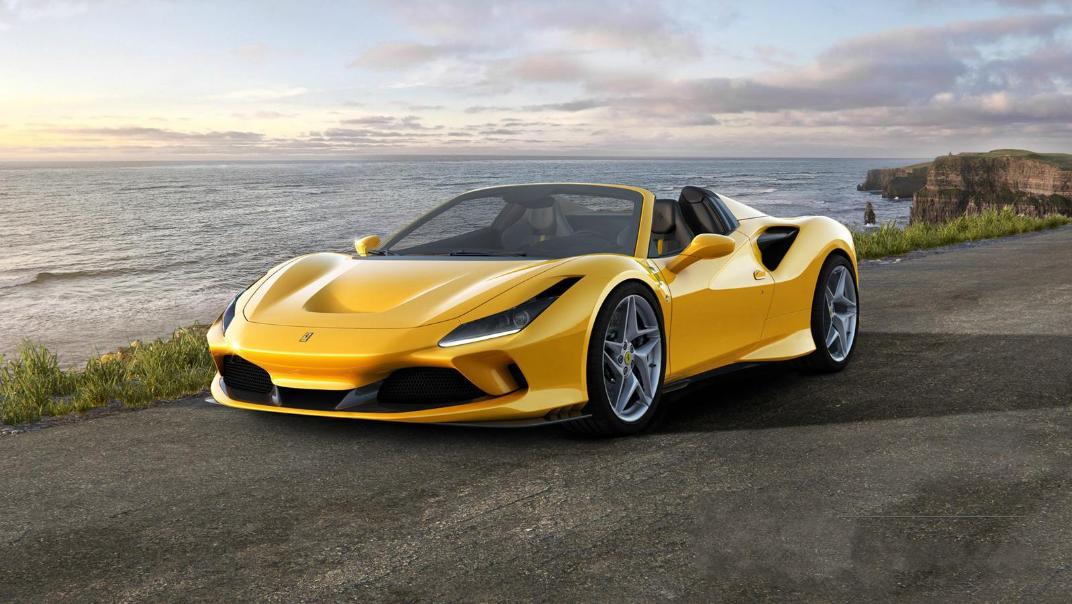 2020 3.9 F8 Spider V8 Turbo Exterior 006