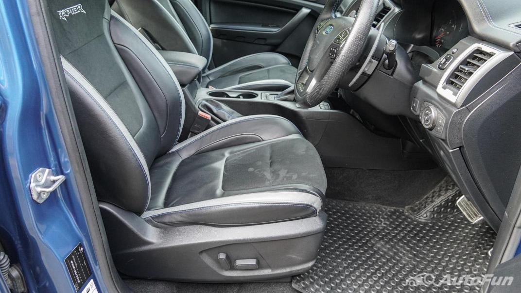Ford Ranger Raptor 2.0L EcoBlue Interior 051
