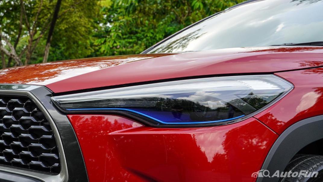 2020 Toyota Corolla Cross 1.8 Hybrid Premium Safety Exterior 017