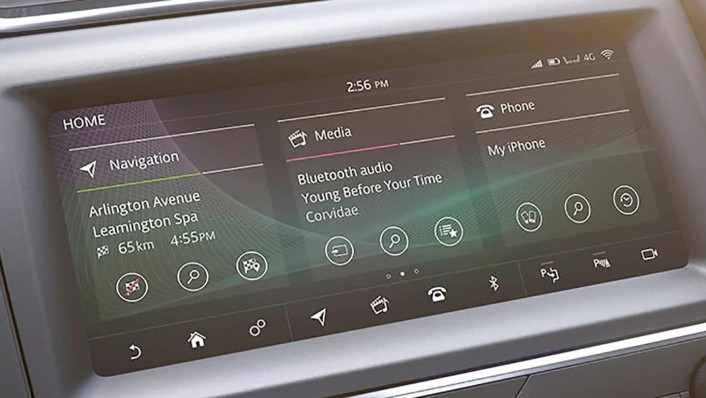 Jaguar E-Pace 2020 Interior 004