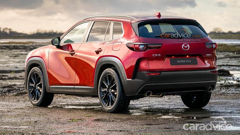 เรนเดอร์เหมือนจริง 2022 Mazda CX-5 รุ่นใหม่ หน้าดุแบบนี้สู้ Haval H6 ไหวไหม? 02