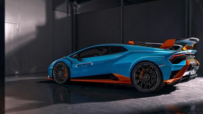 2021 Lamborghini Huracan STO Exterior 009