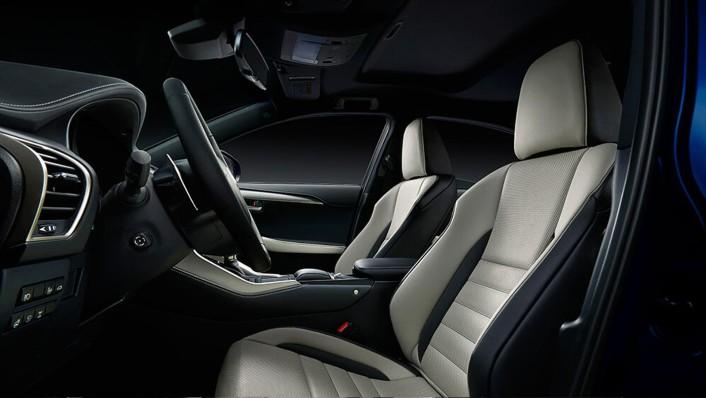 Lexus NX Public 2020 Interior 002