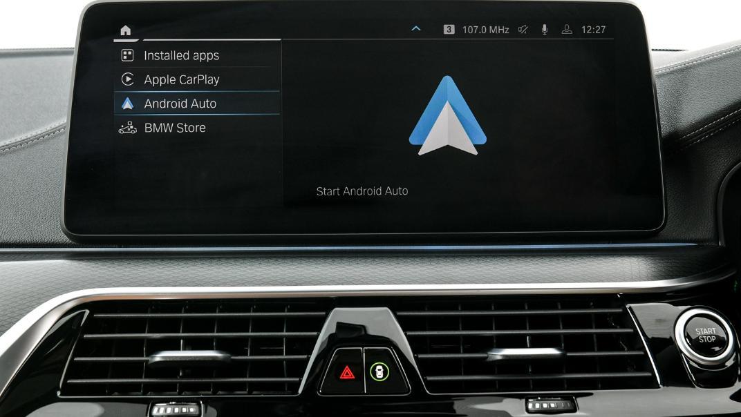 2021 BMW 5 Series Sedan 530e M Sport Interior 033