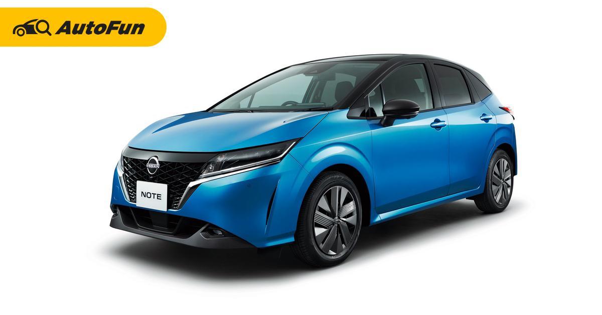 เปิดตัว All-New 2021 Nissan Note มีเฉพาะ e-Power ในญี่ปุ่น คอรถยนต์เมืองไทยได้ใช้แน่นอน? 01