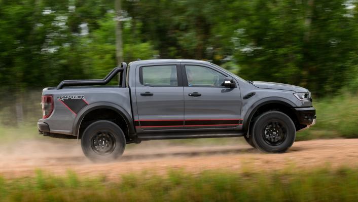 2021 Ford Ranger Raptor X Exterior 007