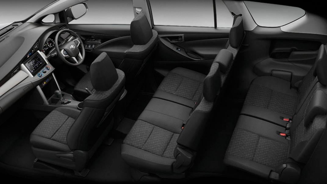 2021 Toyota Innova Crysta Interior 005