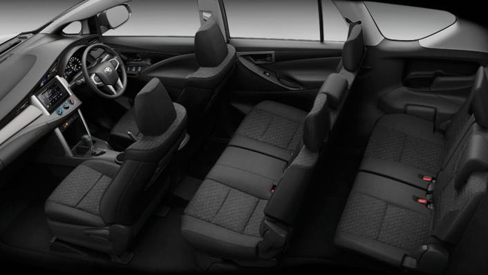 2021 Toyota Innova Crysta Public Interior 005