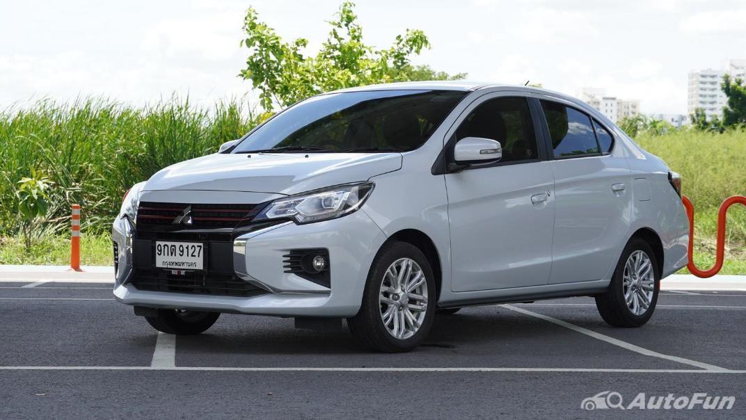 2020 1.2 Mitsubishi Attrage GLS-LTD CVT Exterior 001