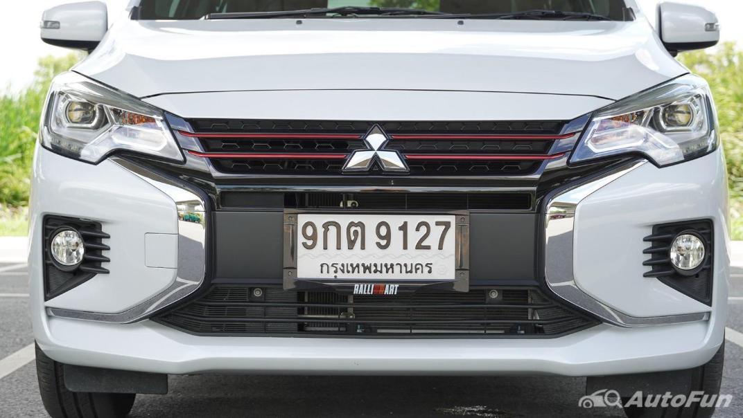 2020 1.2 Mitsubishi Attrage GLS-LTD CVT Exterior 022