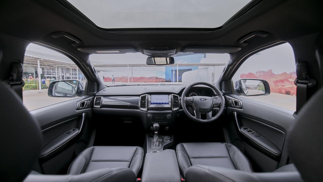 2021 Ford Everest Titanium+ Interior 001