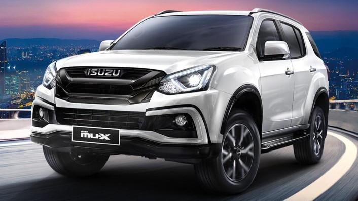 Isuzu MU-X Public 2020 Exterior 001