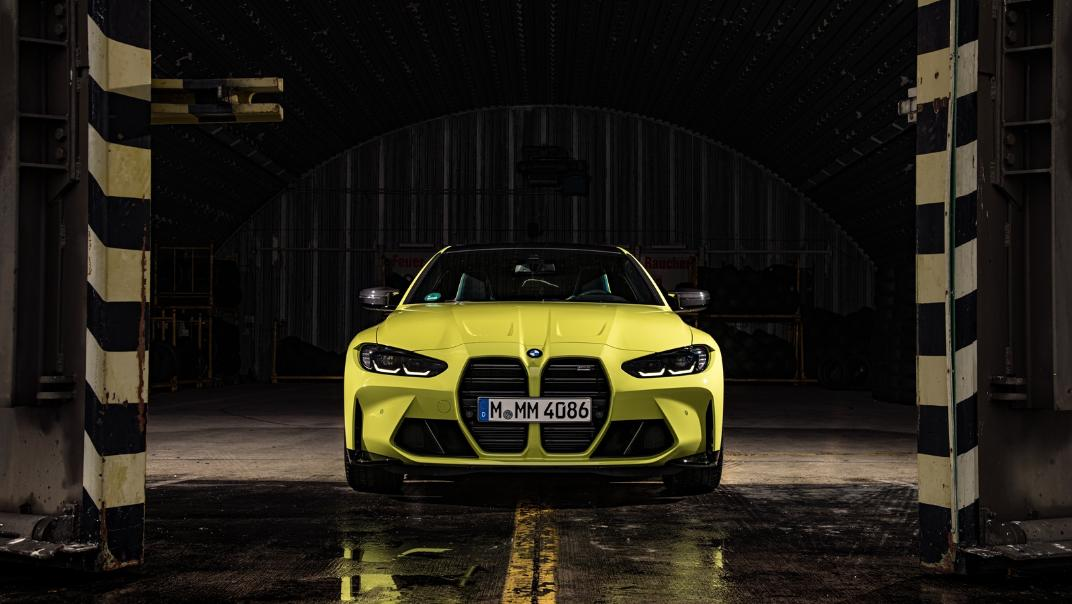 2021 BMW M4 Coupe Competition Exterior 002