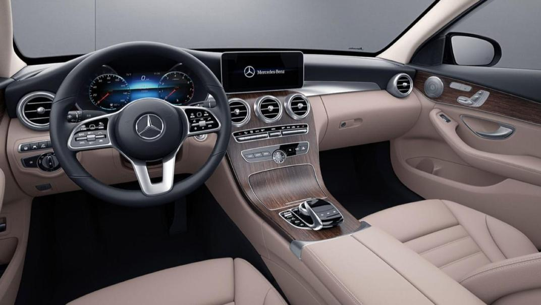 Mercedes-Benz C-Class Saloon Public 2020 Interior 001