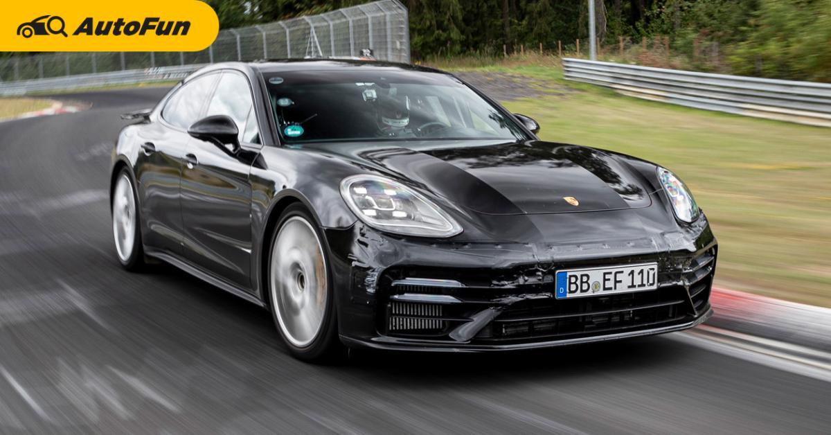 2021 Porsche Panamera ทำสถิติใหม่ วิ่งสนาม 20 กม.ใช้เวลาแค่ 7 นาทีนิดๆ 01