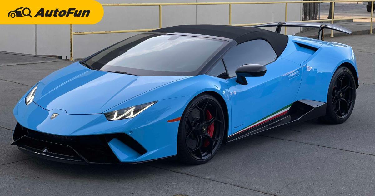 ถ้าหาก Lamborghini Huracan ขายมือสองราคากว่า 13 ล้านบาท แต่ซ่อมมาจากซาก คุณจะกล้าซื้อมั้ย ? 01