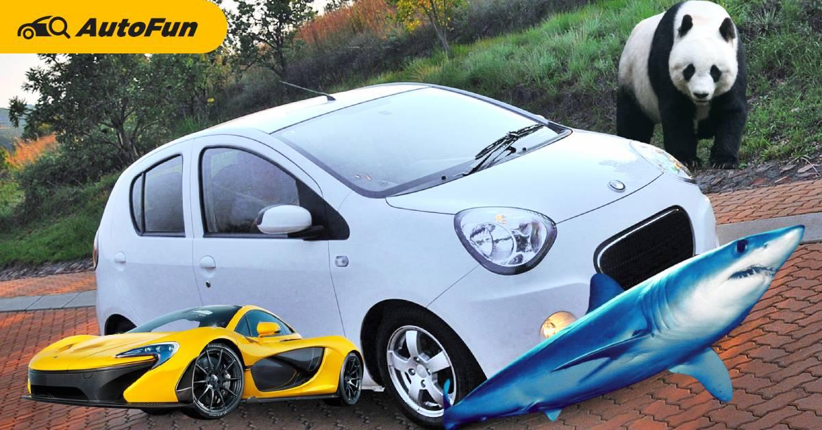 Top 5 รถที่นักออกแบบยอมรับ ว่าเลียนแบบมาจากสัตว์ บางคันประหลาดสุดเท่าที่เราเคยเห็นมา 01
