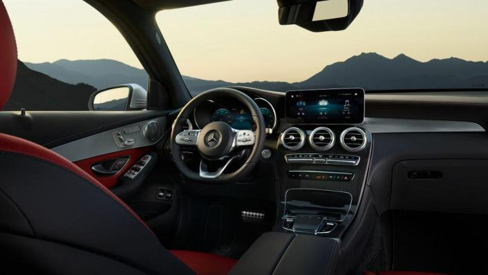 Mercedes-Benz GLC-Class Public 2020 Interior 001
