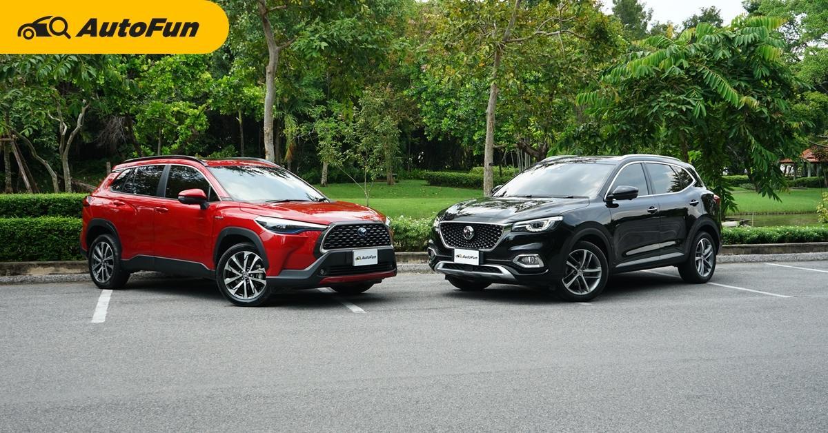 Toyota Corolla Cross หรือ MG HS ในงบ 1.2 ล้านบาท คุณเหมาะกับรถอะไรมากกว่ากัน 01