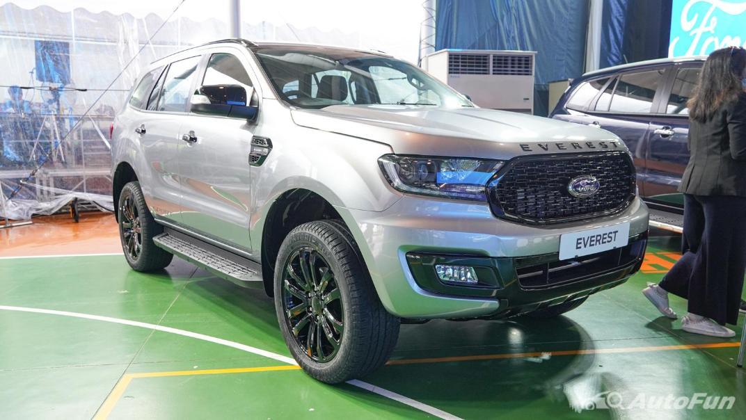 2021 Ford Everest Titanium+ Exterior 006