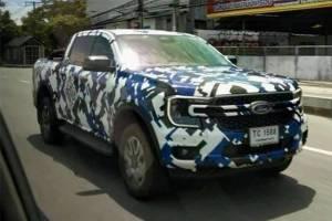 สปายช็อต 2022 Ford Ranger หน้าหล่อแบบนี้ เก็บเงินพร้อมกันหรือยัง?