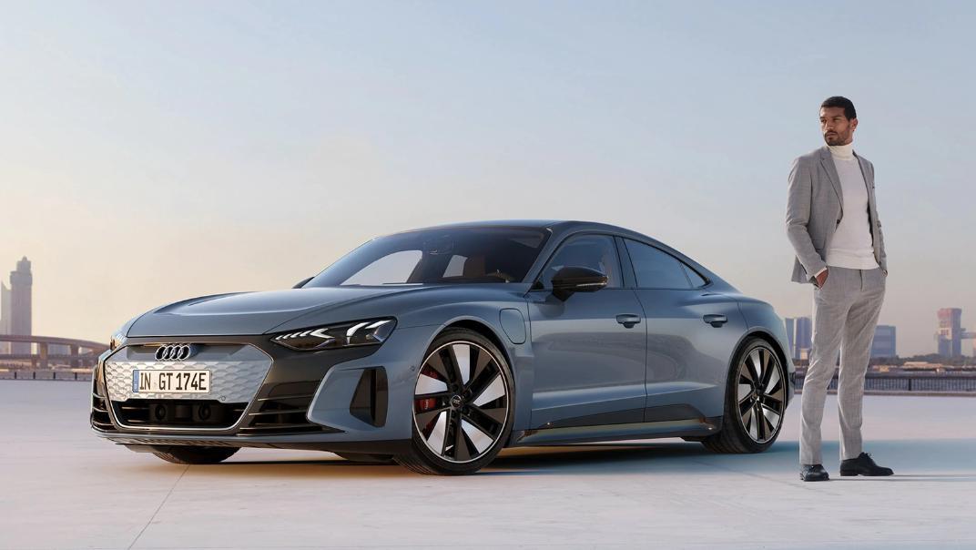 2021 Audi e-tron GT quattro Exterior 001