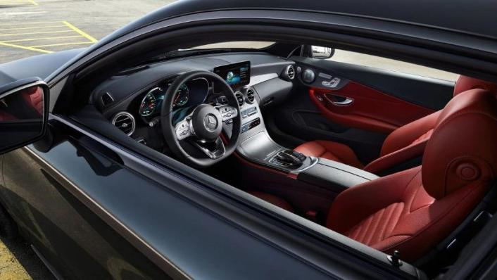 Mercedes-Benz C-Class Coupe 2020 Interior 003