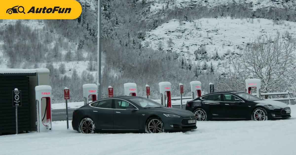 นอร์เวย์จะขายรถยนต์ไฟฟ้าได้ 100% ในเมษายน 2022 เร็วกว่าที่ตั้งเป้าไว้ 3 ปี 01