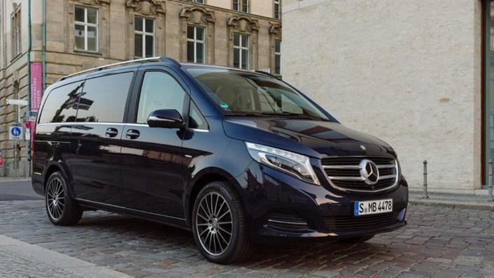 Mercedes-Benz V-Class 2020 Exterior 002