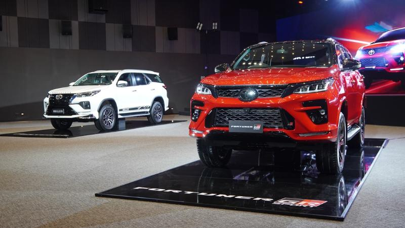 2021 Toyota Fortuner ไมเนอร์เชนจ์ใหม่ได้กล้องรอบคัน พร้อมเปิดตัว GR Sport ราคา 1.879 ล้าน 02