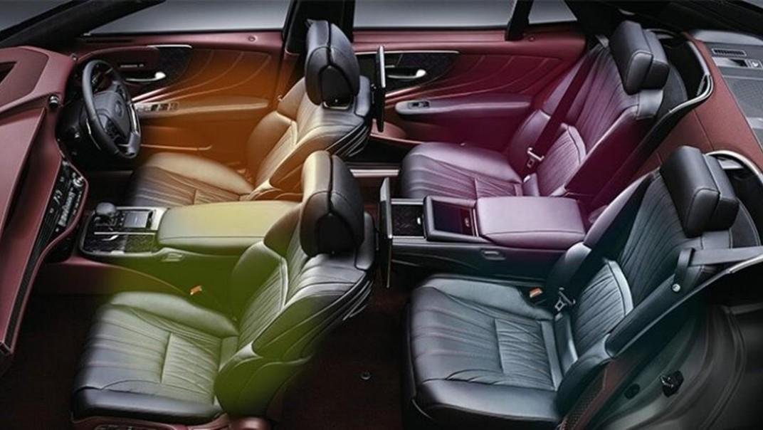Lexus LS 2020 Interior 013