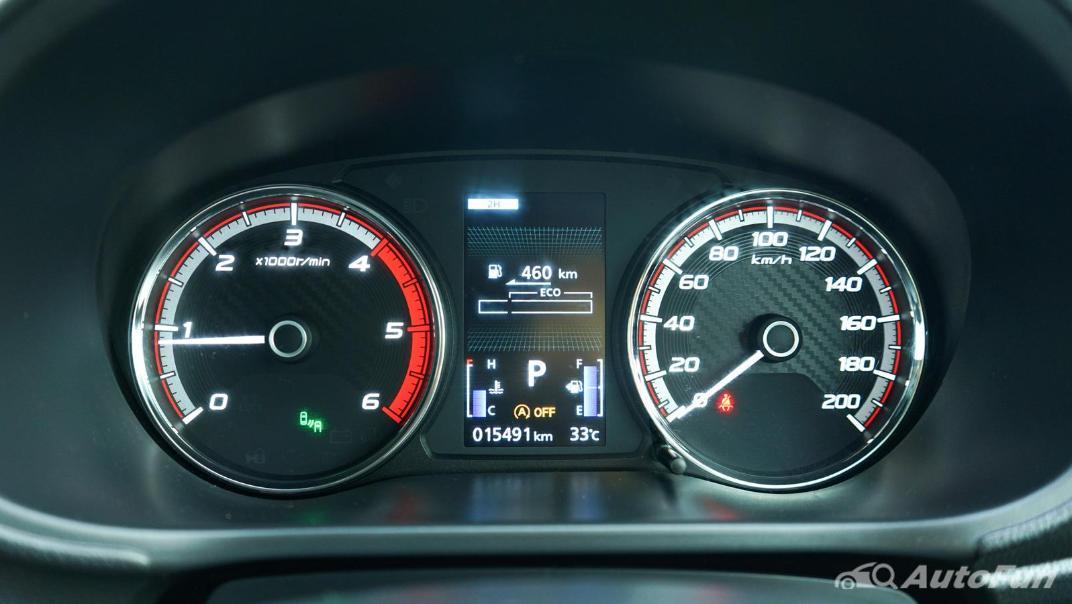 2020 Mitsubishi Triton Double Cab 4WD 2.4 GT Premium 6AT Interior 014