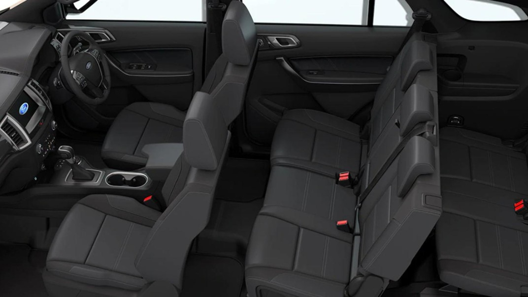 Ford Everest 2020 Interior 006