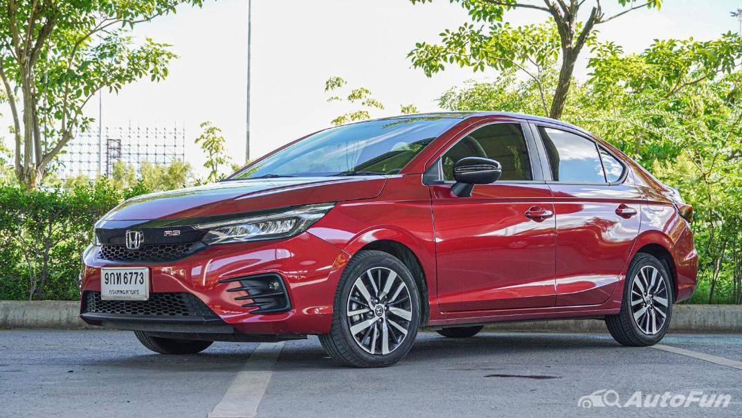 2020 Honda City 1.0 RS Exterior 001