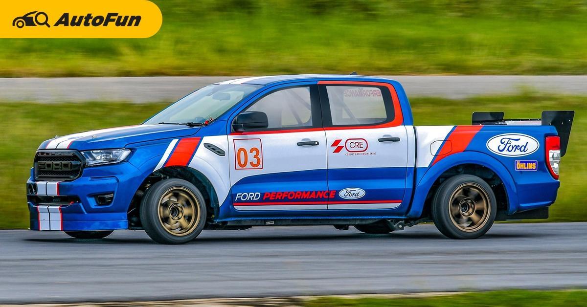 Ford Ranger racing กระบะไทยแต่งแรง เผยสูตรตัวแข่งจากสนามจริง 01