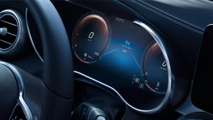 Mercedes-Benz GLC-Class Coupe 2020 Interior 004