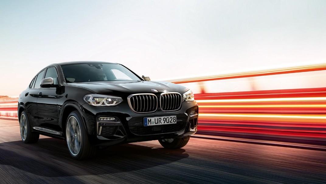 BMW X4-M Public 2020 Exterior 001