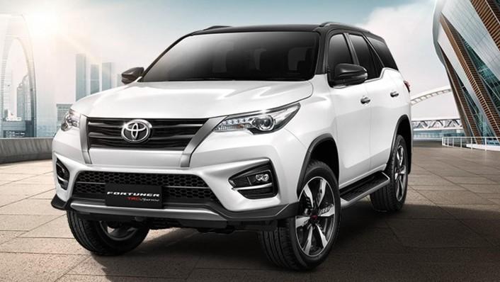 Toyota Fortuner 2020 Exterior 001
